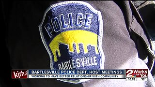 Bartlesville police working to better community relationship