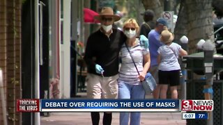 Debates rages on over requiring use of masks