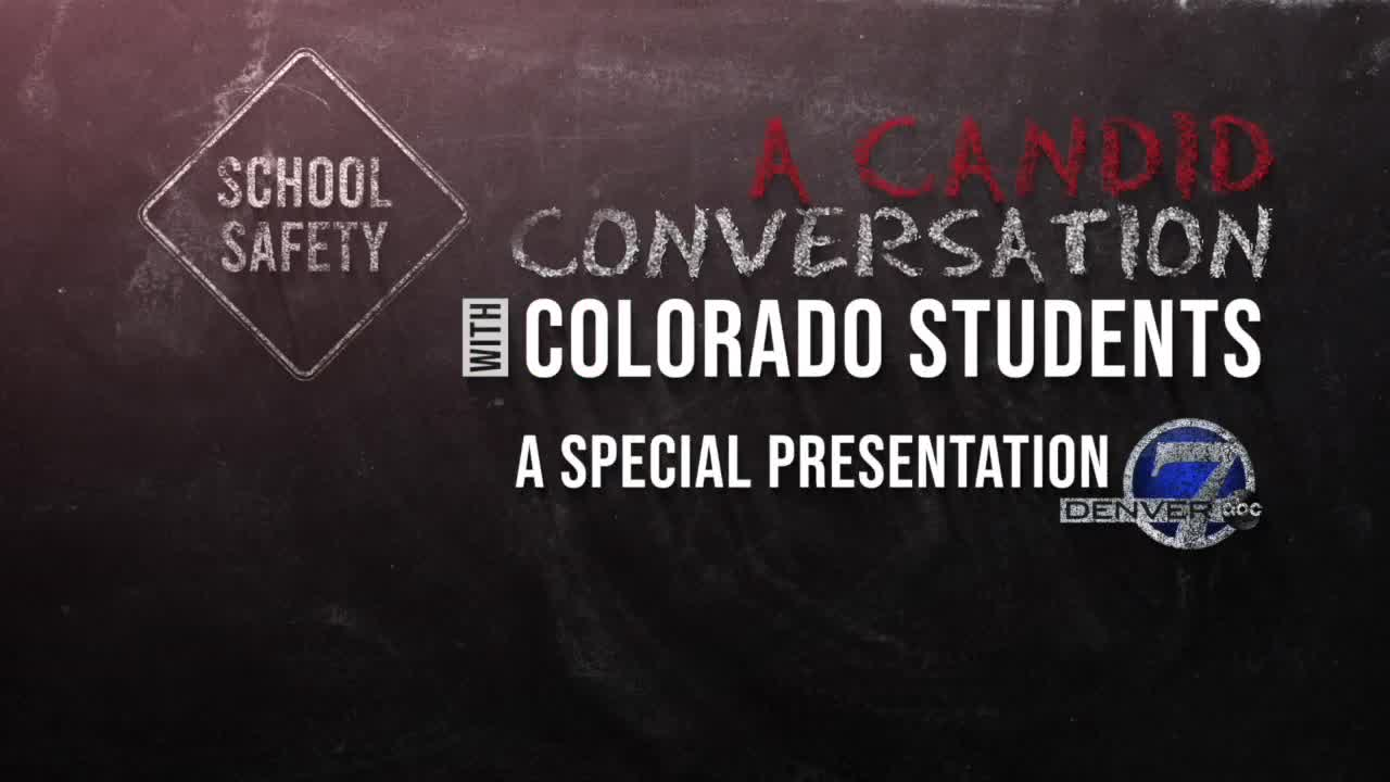 A candid conversation with Colorado students about school safety