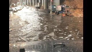 Flash Flooding Hits New York City Amid Tri-State Storm