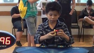 8-Year-Old Cracks Rubik's Cube in 8.63 Seconds - Video