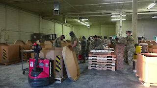 Arizona National Guard supports food distribution efforts