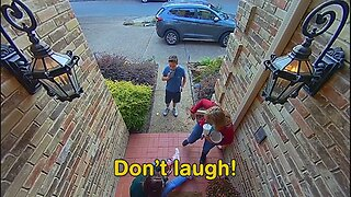 Smile! You're On Security Camera