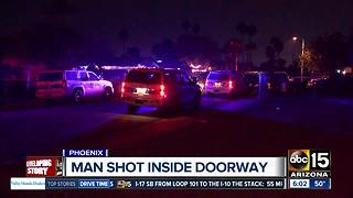 Man shot and killed in Phoenix overnight - Video