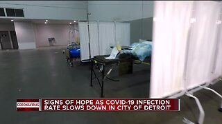 Detroit COVID-19 case trends still improving, nursing homes a serious concern
