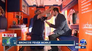 Denver7 gets a sneak peek at the Broncos Fever Mobile - Video