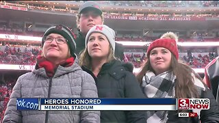 Heroes honored at Memorial Stadium