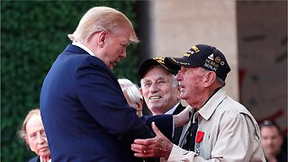 Trump hails D-Day veterans as 'among the very greatest'