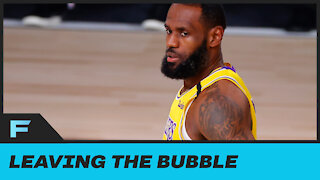 """LeBron James Says He Thinks About Leaving NBA Bubble """"At Least Once A Day'"""