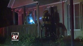 Lansing Fire Department investigating early morning apartment complex fire - Video