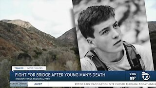 Fight for bridge at Mission Trails after young man's death
