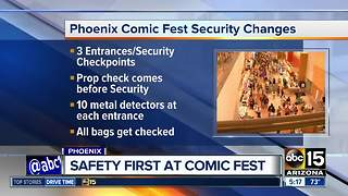 Safety first at Phoenix Comic Fest