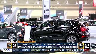 On the go Motor Trend international auto show - Video