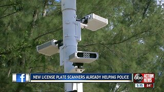 New license plate scanners already helping police