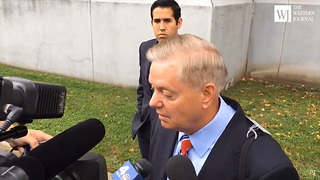 Lindsey Graham Calls On Roy Moore To Step Aside, But Testifies Bob Menendez 'Honorable Guy' - Video