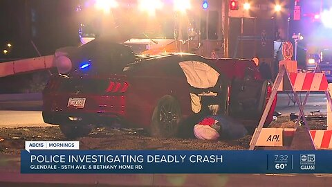 Police investigating serious crash near 55th Avenue and Bethany Home Road