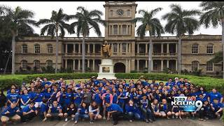 Sierra Vista high school band travels to Hawaii - Video
