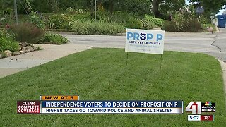 Independence voters to decide on Proposition P