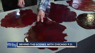 Behind the scenes with Chicago PD