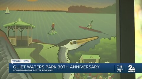 Quiet Waters Park 30th anniversary, commemorative poster revealed