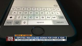 Deputies: Man stalked woman for over a year - Video