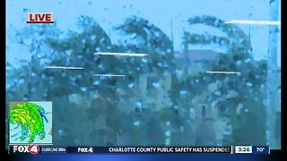 Wind getting stronger in Collier County - Video