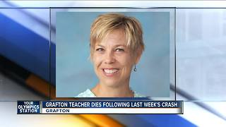 Grafton fourth grade teacher dies after car crash - Video