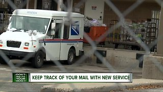 Keep track of your mail with new service