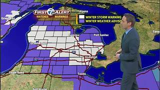 Winter Weather Alert Forecast - Video