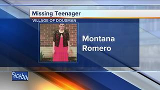 Police looking for missing 17-year-old girl in Waukesha County