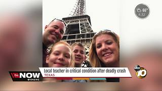 North County teacher critically injured in crash - Video