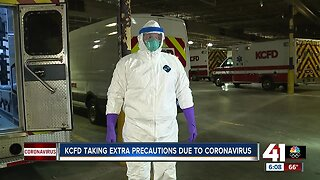 KCFD crews will wear masks, gowns on medical calls
