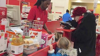 Target Cashier's Act of Kindness - Video