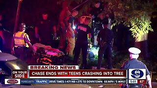 CPD: 3 teens hurt after crash in Mount Lookout