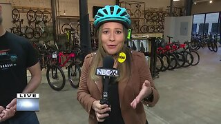 Pete's Garage holds community bike rides