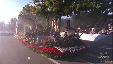 Pasadena celebrates the new year with the 130th Rose Parade