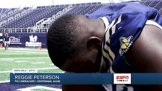 Reggie Peterson earns scholarship from FIU