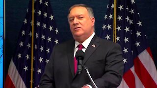 Mike Pompeo Press Conference in Washington D.C.