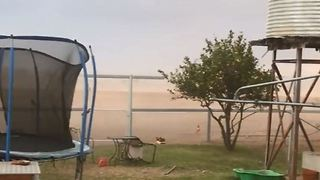 Dust Storm Ravages Drought-Stricken Tamworth