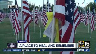 Annual 9/11 tribute in Tempe continues Monday - Video
