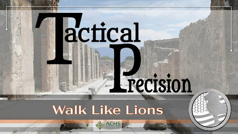 """Tactical Precision"" Walk Like Lions Christian Daily Devotion with Chappy Dec 24, 2020"