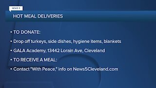 Cleveland organization to deliver hot meals to those in need this Thanksgiving