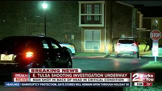 Man critically injured in south Tulsa shooting