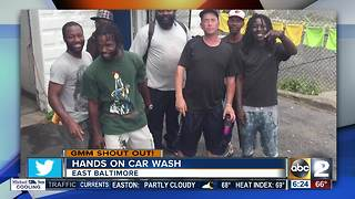 Hands On Car Wash says good morning Maryland - Video