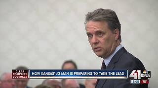 How KS lieutenant governor is preparing to take the lead - Video