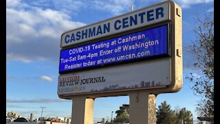 County working on improving appointment verification at Cashman Center COVID-19 vaccine site
