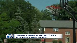 Daemen holds annual basketball camp - Video