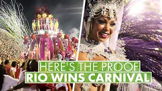 Cash, costumes and condoms: The numbers behind Carnival - Video