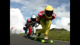 Extreme Downhill Skateboard - Video