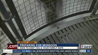 Preparing for monsoon and flash floods across the Las Vegas valley - Video